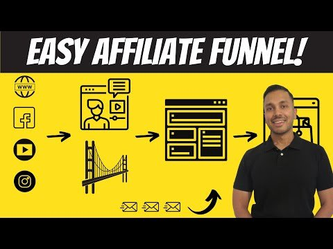 How to Build An Affiliate Marketing Funnel for Beginners (Fastest Method) 👉 Example + Tutorial
