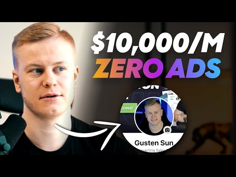 $10K in 30 Days WITHOUT ADS (Profile Funnel & Clickfunnels)