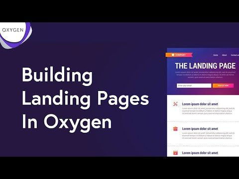 How To Build Landing Pages In WordPress With Oxygen — Better And Cheaper Than Clickfunnels