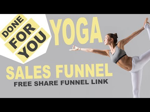 Free Done For You Sales Funnel: Yoga Funnel
