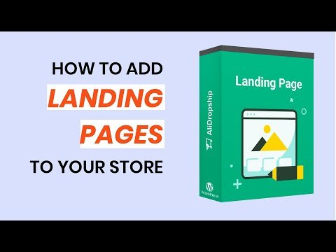 Landing Pages Add-on by AliDropship