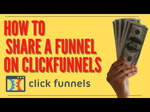 How To Share A Funnel On ClickFunnels – (ClickFunnels Support)