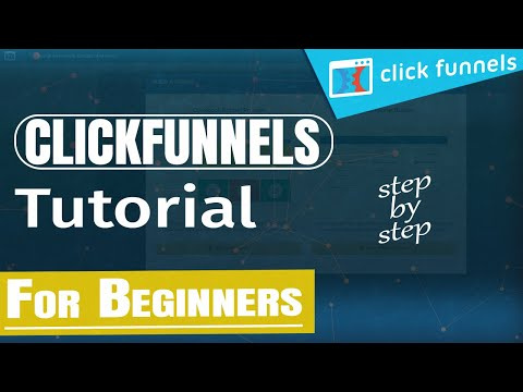 ClickFunnels Tutorial: How To Build a Landing Page IN-DEPTH TRAINING (Step by Step)
