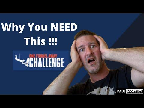 One Funnel Away Challenge – Clickfunnels Bonus – How To Get $100 Days !