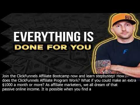 How does clickfunnels aff.iliate program wor.k if a person is an existing clickfunnels user,