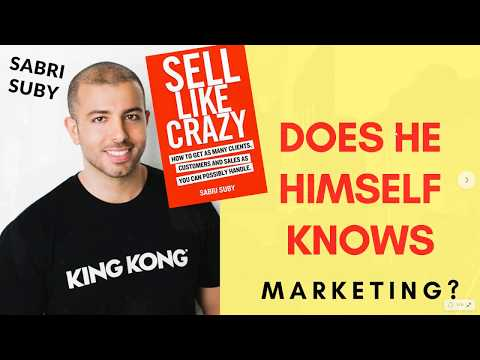 Sabri Suby: Sell Like Crazy (sales funnel) Review, does he himself know marketing?