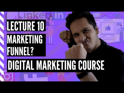 Lecture 10 – What Is A Marketing Funnel – Digital Marketing Free Course