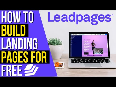 HOW TO BUILD A LANDING PAGE FOR FREE 2021