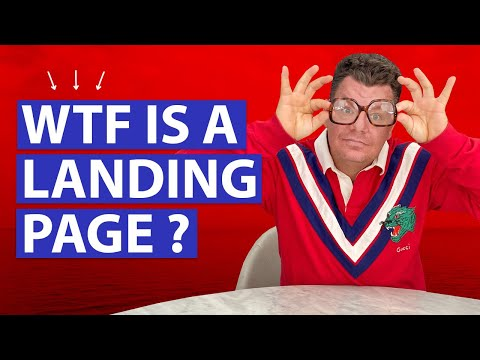 WTF is a Landing Page?