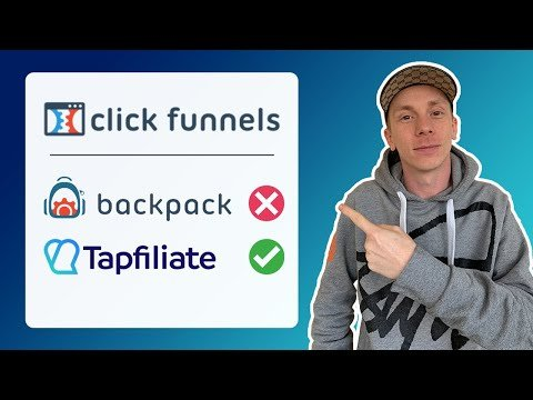 ClickFunnels Tutorial: How To Set Up Backpack Alternative Tapfiliate