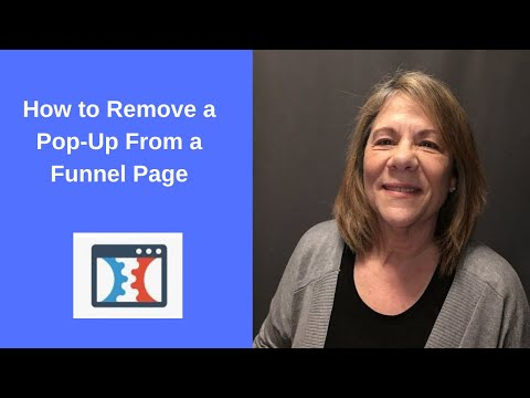 How to Remove a Pop Up From Funnel Page | ClickFunnels