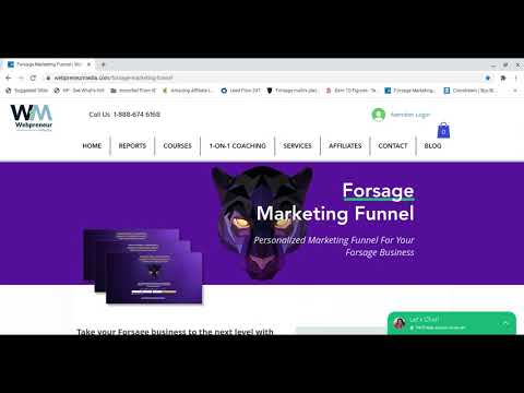 Forsage Marketing Funnel – How To Refer People To Forsage With Done for You Funnels