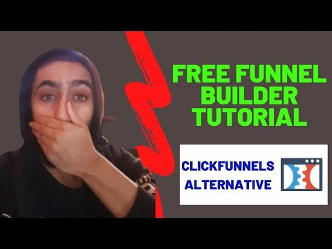 Clickfunels Alternative | How To Build An Affiliate Marketing Funnel For FREE | Aweber tutorial 2021