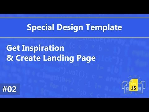[Arabic] Special Template #02 – Get Inspiration and Create Landing Page