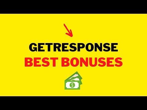 GetResponse Landing Page Review Bonus: Get My INSANE Bonus With $970+ in Bonuses