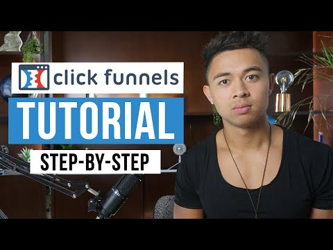 Clickfunnels Tutorial For Beginners 2021 (Step by Step)