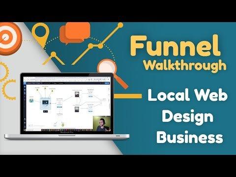 Sales Funnel Walkthrough | Local Web Design Business