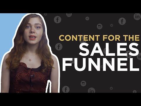 How To Create Content for the Sales Funnel