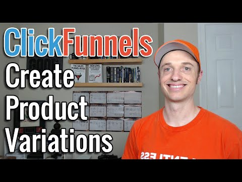 How To Create Product Variations on ClickFunnels