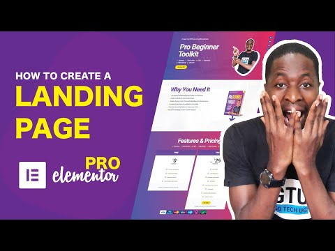 Create A Landing Page with Elementor Pro