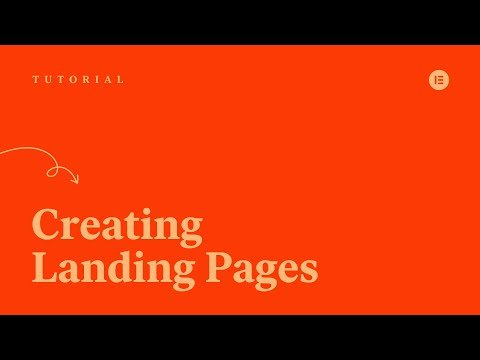 How to Use Elementor Landing Page Builder