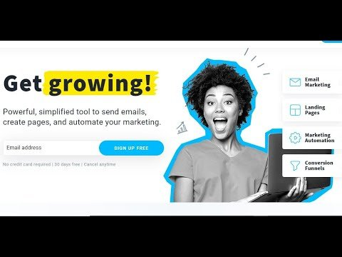 How to Create Quick Free Sales Funnels Tutorial (Free Landing Pages & Email Lists) Link Below