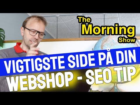 SEO optimering af din vigtigste side på din Webshop ( Landing page – SEO Tip )