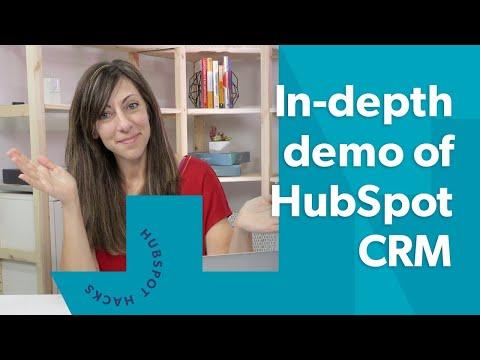 The Ultimate In-depth HubSpot CRM Demo