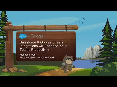 Salesforce & Google Sheets Integrations Enhance Productivity