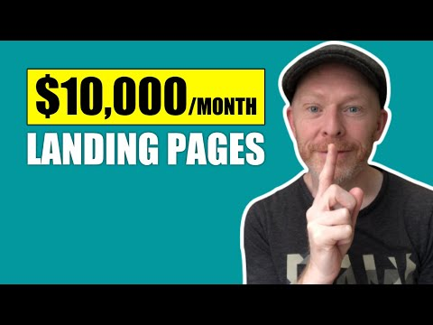 How I Build High Converting Landing Pages to Make Money With Clickbank Affiliate Marketing
