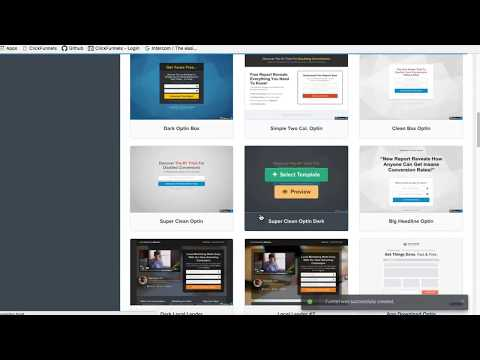 [ClickFunnels FAQs] How to create an Optin Funnel in ClickFunnels