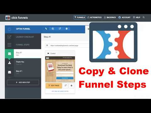 How To Copy Pages In Click Funnels Training 💡