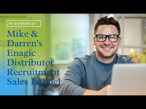 Mike and Darren's Enagic Distributors Recruitment Sales Funnel Explained