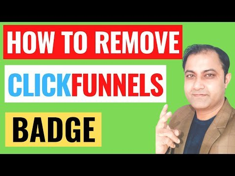 How To Remove Clickfunnels Badge 2021