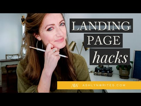 How to Make a Pretty Landing Page in 10 Minutes 🖥