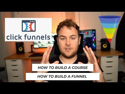 Inside My Clickfunnels Course Dashboard & Funnel