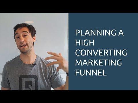 Plan a high converting marketing funnel