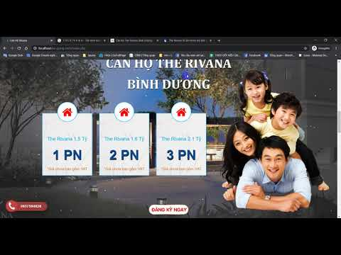 Chia sẻ layout website landing page bất động sản để chạy quảng cáo | Real Estate Landing Pages