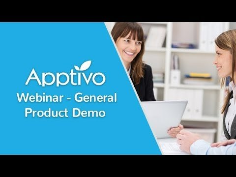 Apptivo Webinar – General Product Demo