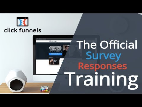 [Official Training] How To Submit Survey Responses In Clickfunnels