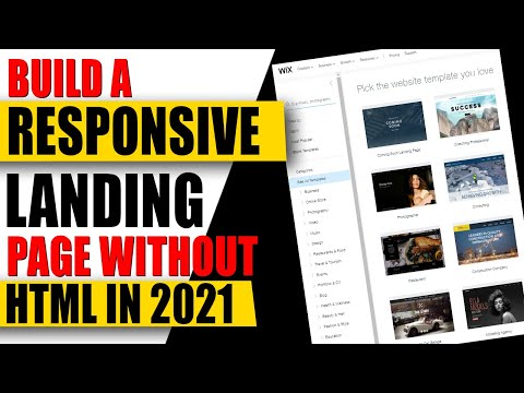 How to Build A High Converting Landing Pages For Free ✅