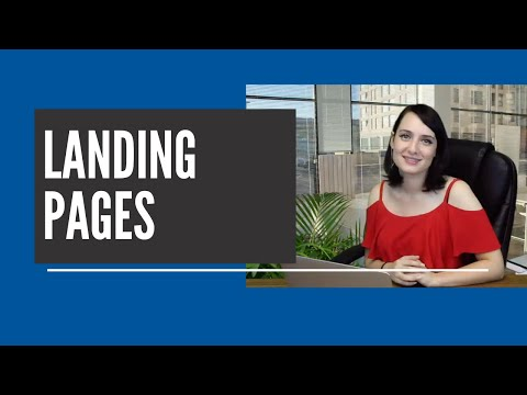 How to Create Landing Pages with Wise Agent