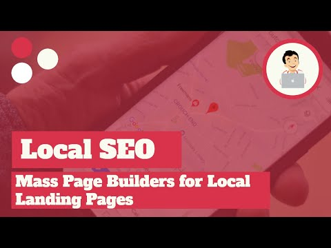 Mass Page Builders for Local Landing Pages, Mass Page SEO