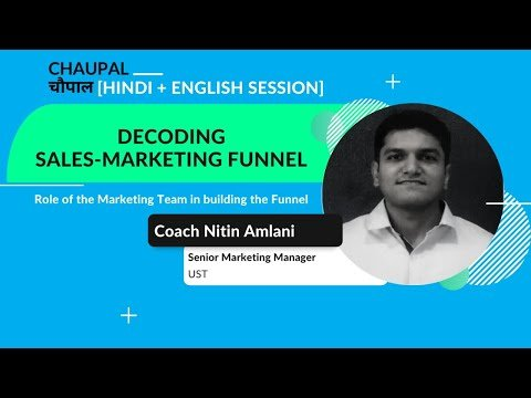 Decoding Sales and Marketing Funnel: Role of the marketing team in building the marketing funnel