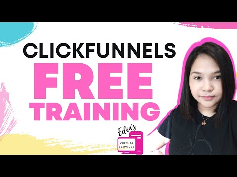 Clickfunnels FREE Training Access How to become a Virtual Assistant Free Virtual Assistant Training
