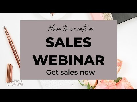 How to Create a Sales Generating Webinar Sales Funnel   HIGH TICKET COACHING