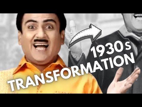 JETHALAL 1930s TRANSFORMATION | Fanart | Digital Painting Procreate | Artma #Shorts