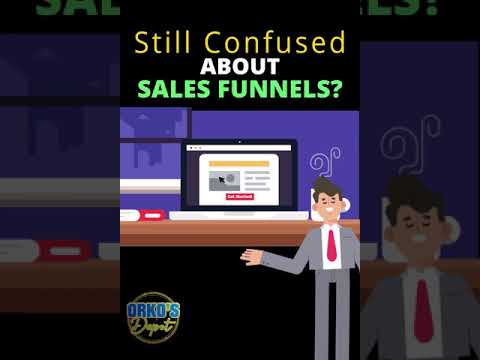 How To Build Sales Funnels For Beginners! #shorts #salesfunnelstrategy #whatisasalesfunnel