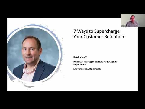 #BizHackLive Webinar – 7 Ways to Supercharge Your Customer Retention with Patrick Neff