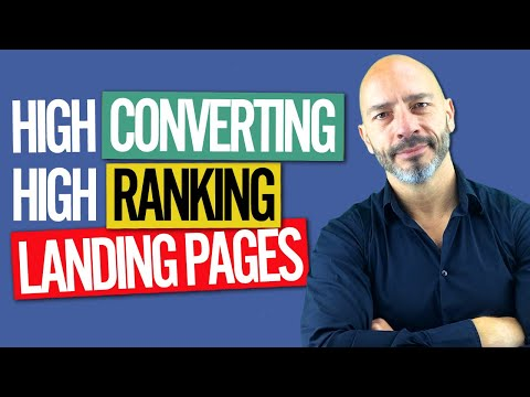 How To Create High Converting Landing Pages That Also Rank High in Google